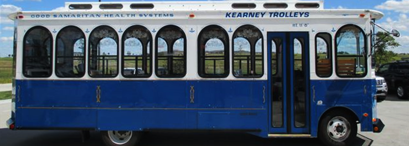 Trolley Bus Rental Kearney NE